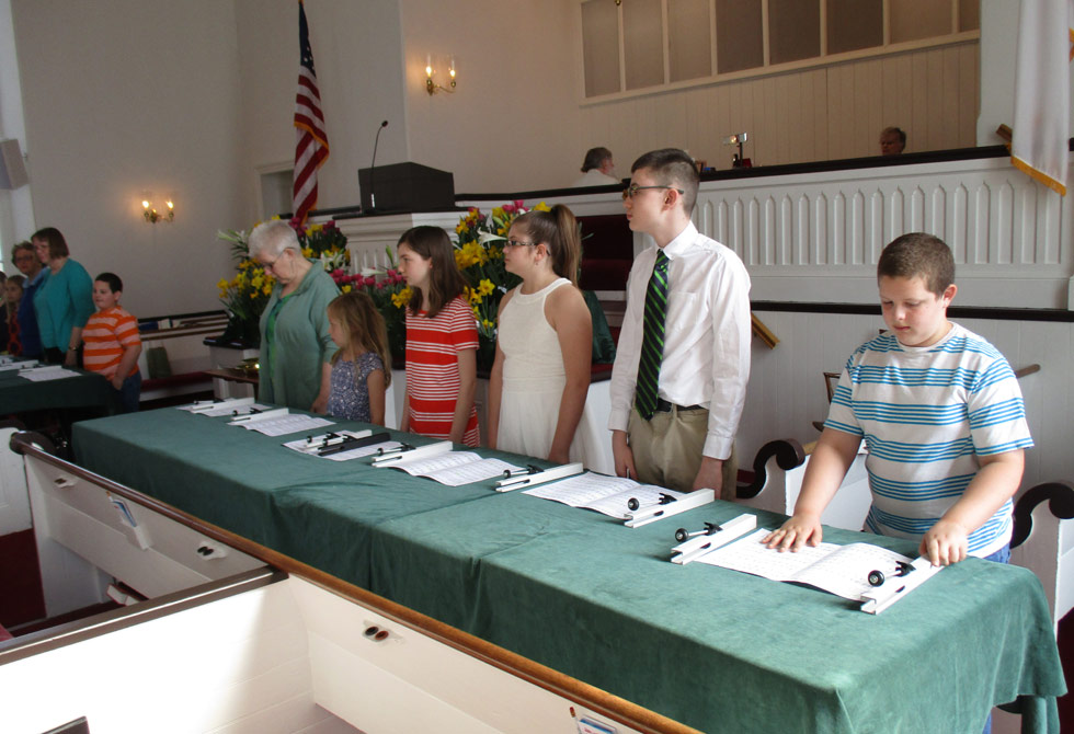 Services At The Baptist Church In The Great Valley