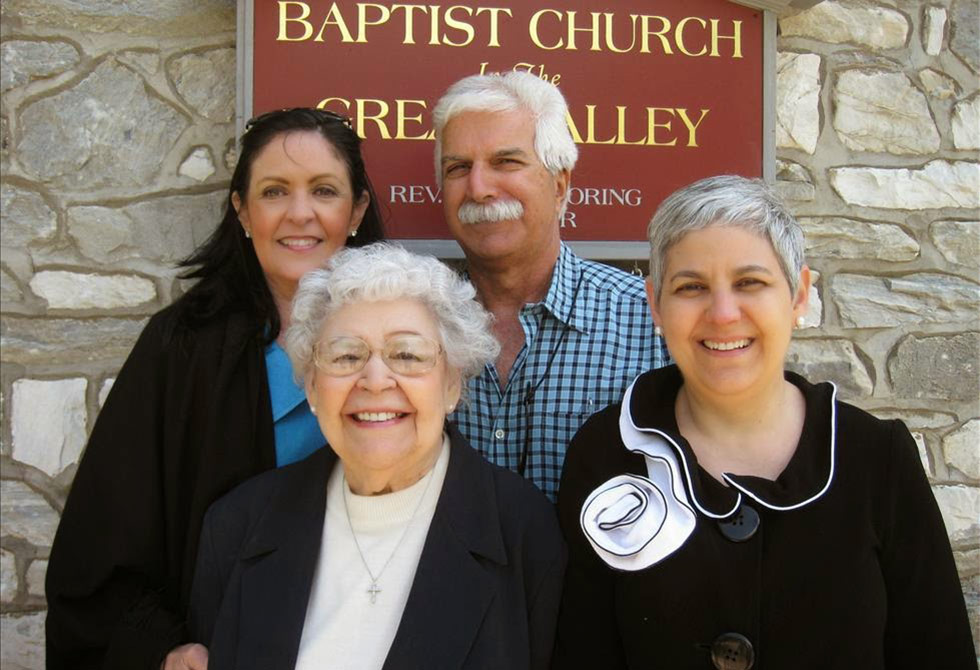 BCGV Members Outside The Church