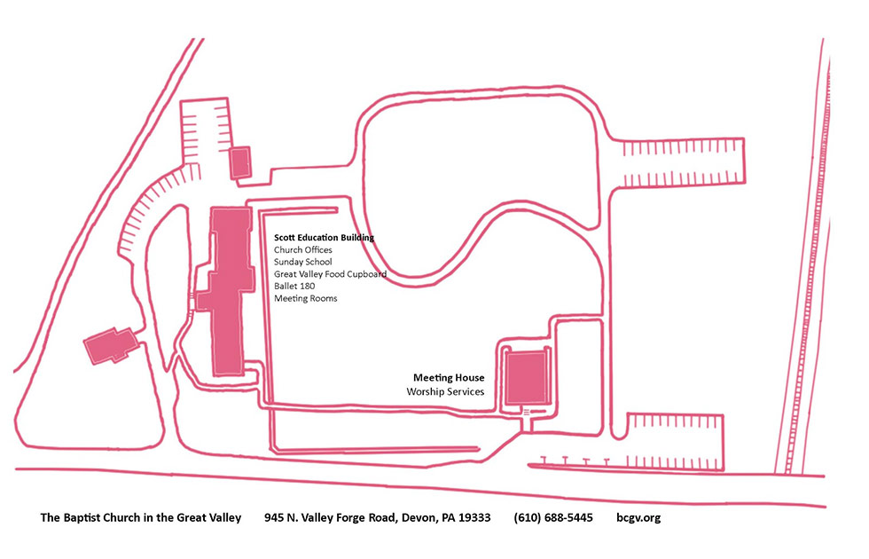 Illustrated Map Of BCGV Grounds