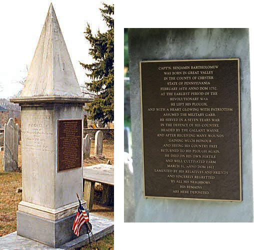 BCGV Cemetery Marker 4
