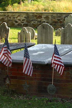 BCGV Cemetery Marker 5