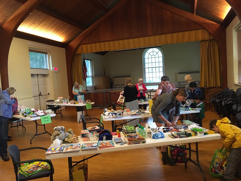 Our members build Chemo Care Kits for Kids