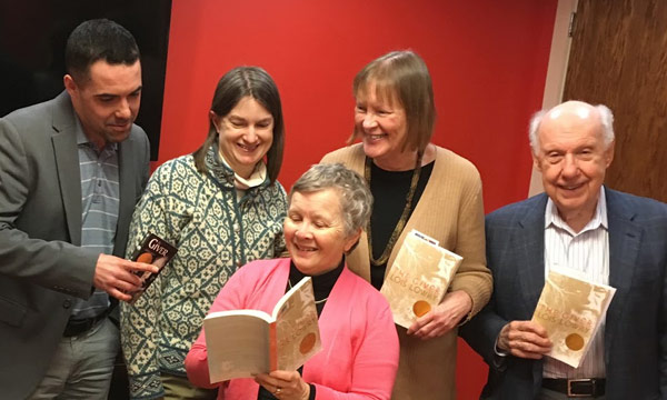 BCGV book club discusses The Giver by Lois Lowry
