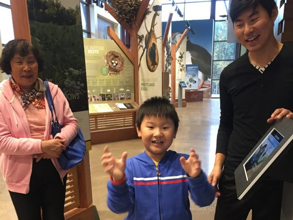 BCGV Sunday School students and church family took at the Audubon Center's museum this fall