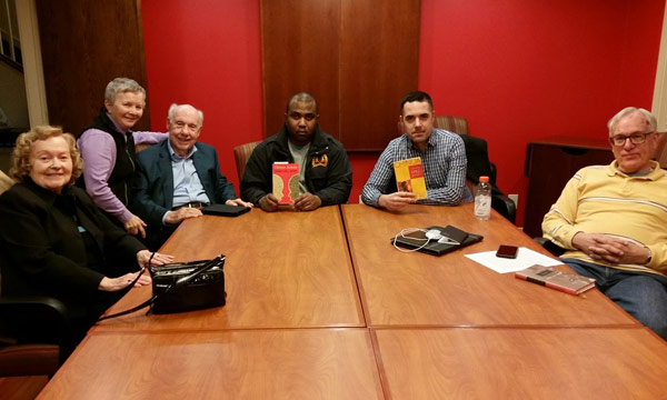 The BCGV book club discusses Things Fall Apart by Chinua Achebe