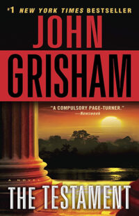 Book Cover Of The Testament By John Grisham