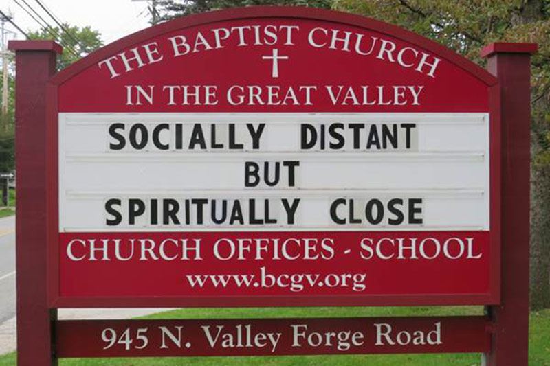 Outdoor Sign For BCGV